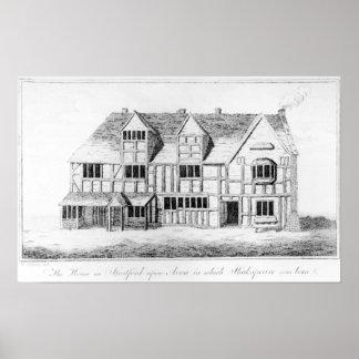 La casa en Stratford-sobre-Avon Impresiones