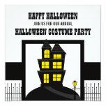 La casa encantada Halloween invita Anuncios