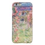 La casa entre los rosas, Claude Monet