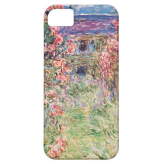 La casa entre los rosas, Claude Monet iPhone 5 Funda