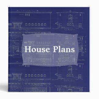 La casa planea la carpeta del modelo