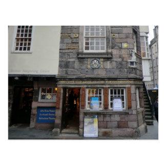 La casa presbiteriana de John Knox del líder en Postales
