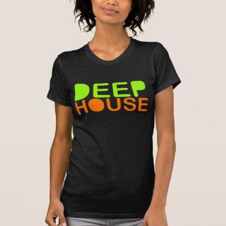 la casa profunda DJ diseña la camiseta de la músic Playeras