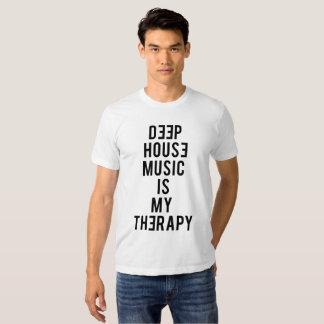 La casa profunda es mi terapia playeras