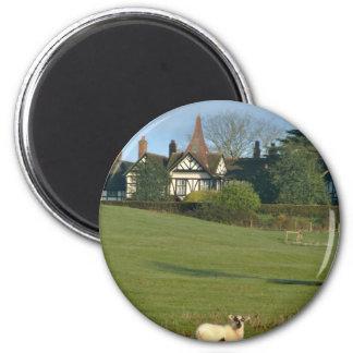 La casa señorial vieja, Wingrave Imán Redondo 5 Cm
