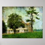 La casa vieja de la granja posters
