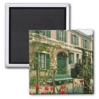 La casa y jardín, Giverny, franco septentrional de Imán Para Frigorifico