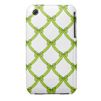 la casamata #1 bows_green iPhone 3 carcasa