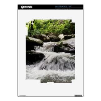 La cascada conecta en cascada Great Smoky iPad 2 Calcomanía