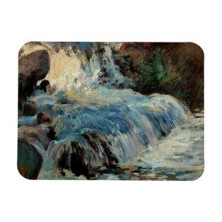 La cascada de John Henry Twachtman Imanes