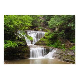 La cascada en suero cae parque de estado, Nueva Cojinete