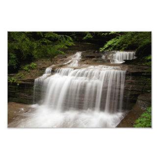 La cascada en suero cae parque de estado, Nueva Yo Fotografía