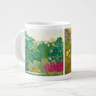 La cascada - taza enorme taza grande