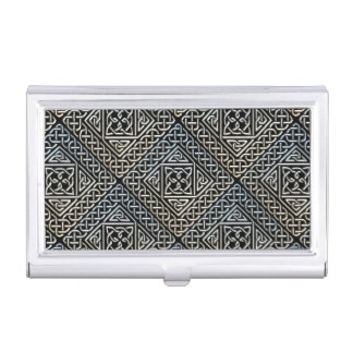 La casilla negra de plata forma el modelo de cajas de tarjetas de presentación