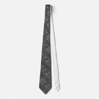 La casilla negra de plata forma el modelo de corbata personalizada