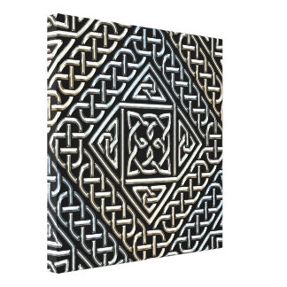La casilla negra de plata forma el modelo de impresión en tela