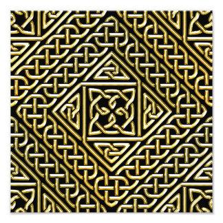 La casilla negra del oro forma el modelo de fotografías