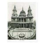 La catedral 1900 de San Pablo Postales