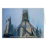 La catedral católica Liverpool Colin Carr-Nall Felicitacion