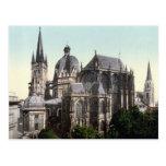 La catedral de Aquisgrán Tarjeta Postal