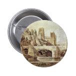 La catedral de Durham y el puente según lo visto d Pin