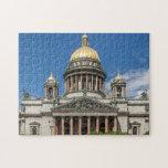 La catedral de Isaac del santo en St Petersburg Ru Puzzle Con Fotos