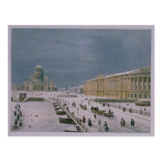 La catedral de Isaac y el cuadrado del senado Postales