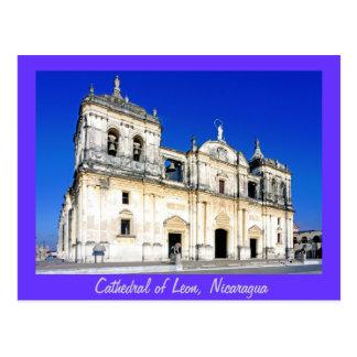 La catedral de León Tarjetas Postales