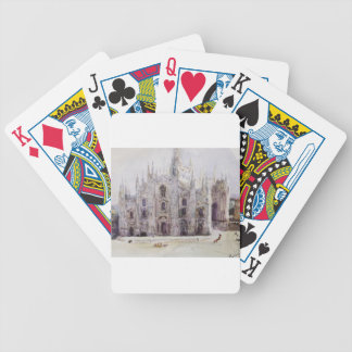 La catedral de Milano de Vasily Surikov Baraja Cartas De Poker