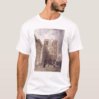 La catedral de Notre Dame, París, 1836 Playera
