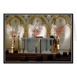 La catedral de San José - altar principal Tarjetas