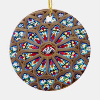La catedral de San José - vitral Adornos De Navidad