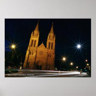La catedral de San Pablo en Adelaide sur de Austr Impresiones