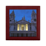 La catedral de San Pablo en el giftbox de la tarde Caja De Joyas