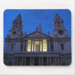 La catedral de San Pablo en el Mousepad de igualac Tapete De Ratón