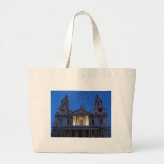 La catedral de San Pablo (Londres) en el bolso de  Bolsas Lienzo