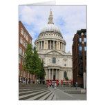 La catedral de San Pablo, Londres Felicitaciones