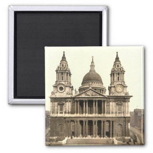 La catedral de San Pablo, Londres, Inglaterra Imán Para Frigorifico