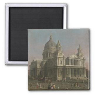 La catedral de San Pablo, Londres, Inglaterra Imán Cuadrado
