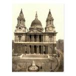 La catedral de San Pablo, Londres, Inglaterra Postales
