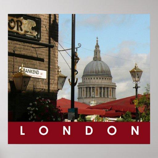 La catedral de San Pablo, Londres Posters