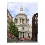 La catedral de San Pablo, Londres Tarjeta Postal