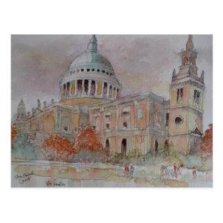 La catedral de San Pablo. Londres Tarjeta Postal