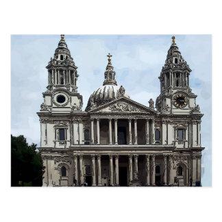 La catedral de San Pablo Tarjetas Postales