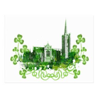 La catedral de San Patricio en Dublín Postal