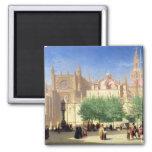 La catedral de Sevilla Imán Para Frigorifico