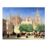 La catedral de Sevilla Tarjetas Postales