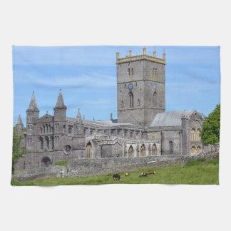 La catedral de St David Toallas