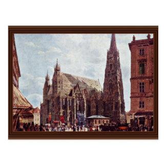 La catedral de St Stephen de la acción Im Eisen Postales