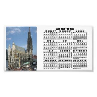 La catedral de St Stephen, Viena Austria Impresiones Fotográficas